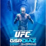 UFC 158: GSP VERSUS NICK DIAZ IS THIS SATURDAY